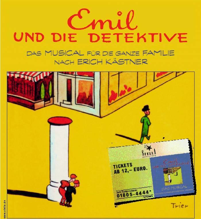 Emil und die Detektive - Das Musical für die ganze Familie nach Erich Kästner